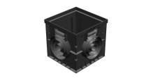 Дренажные системы Gidrolica в Набережных Челнах Точечный дренаж. Дождеприемник пластиковый 300*300